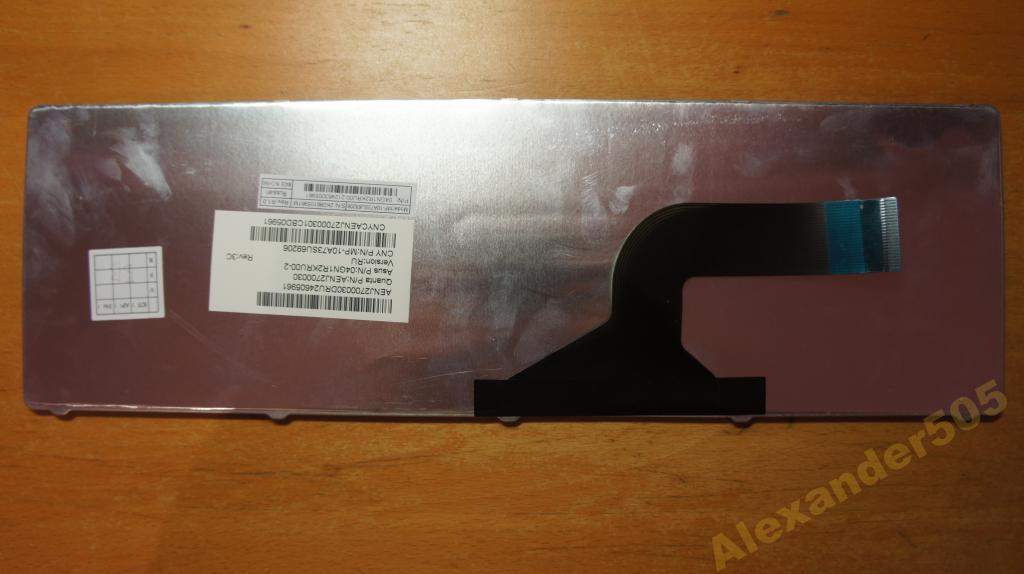 Клавиатура для ноутбука ASUS K53 N53 черная новая