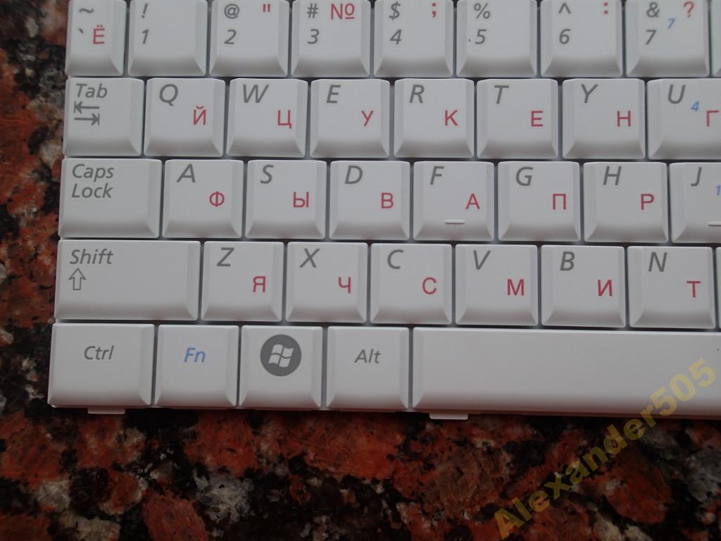 клавиатура для ноутбука Samsung N110, N128, N130