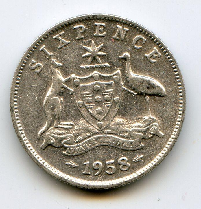 22- - австралия 6 пенсов 1958-1 11331 кб просмотров: 27
