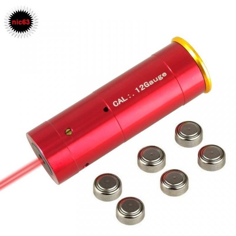 Патрон для лазерной пристрелки 12 калибра своими руками