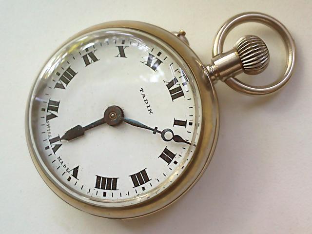 железнодорожные карманные часы tadik ID13