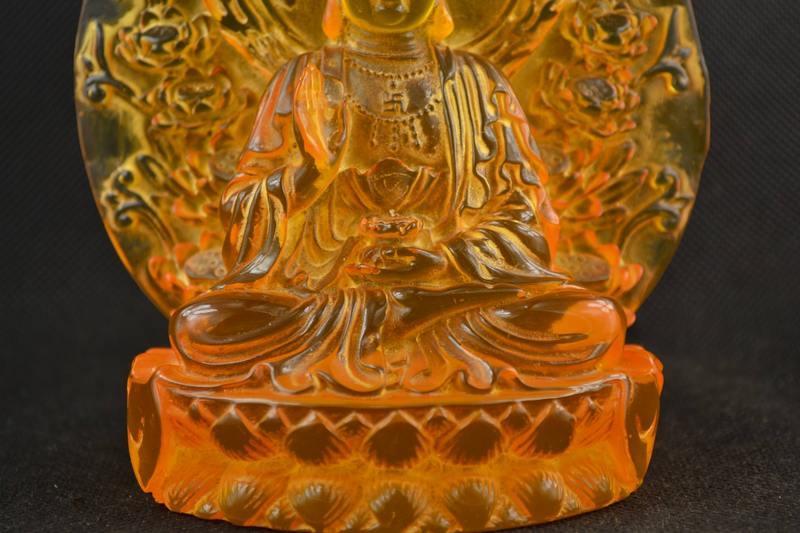 Статуэтка Kwan-Yin Буддизм воск смола