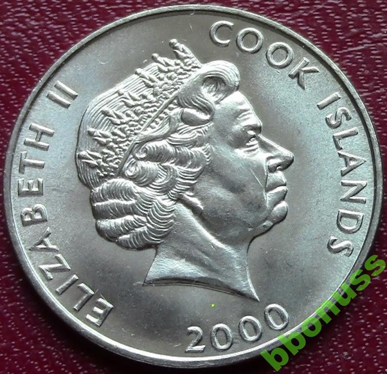 Другие фото острова кука 5 центов 2000 г