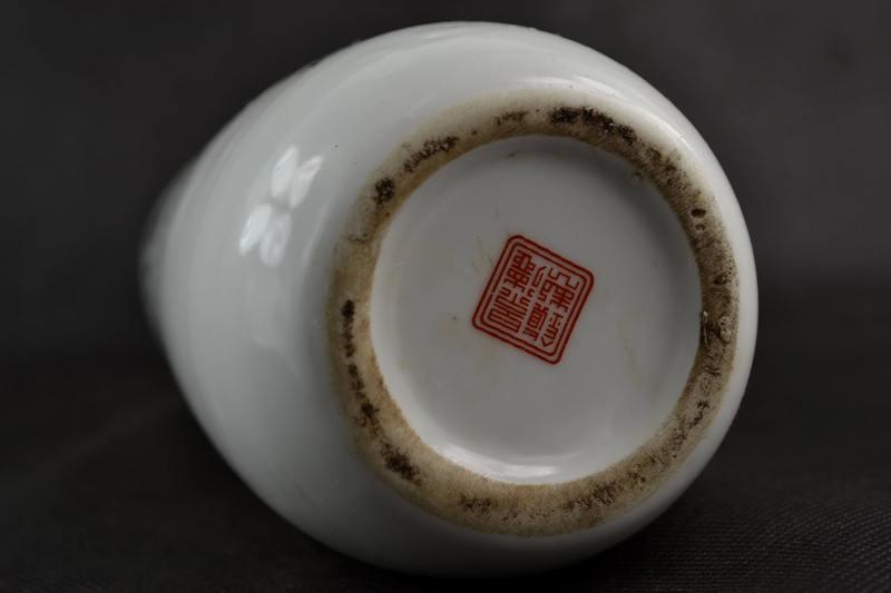 Ваза птицы JingDeZhen фарфор