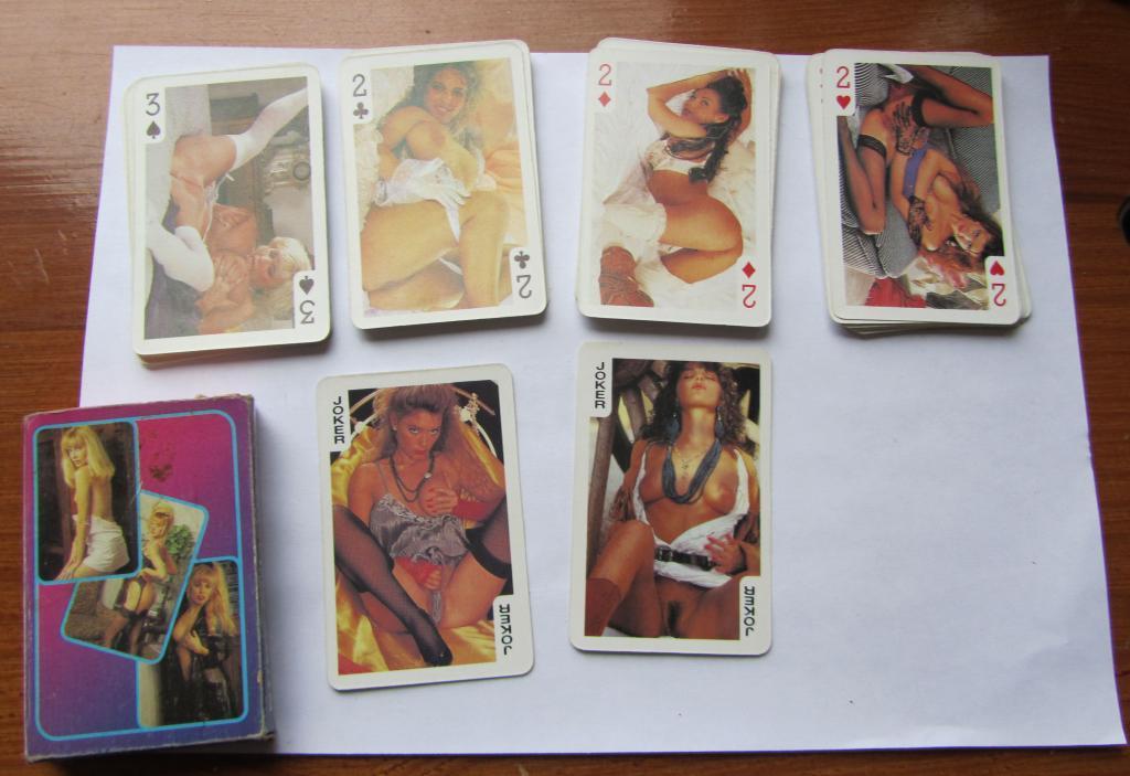 Фото всех видов игральных порно карт