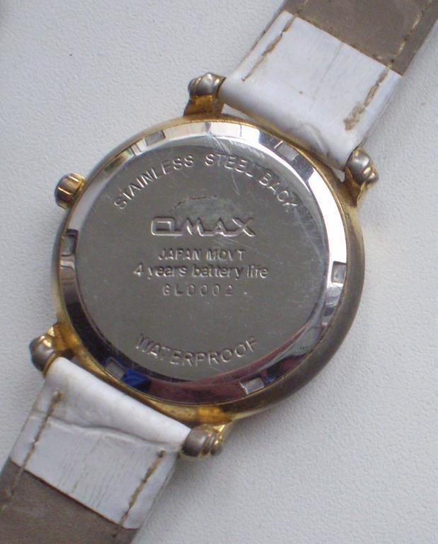 Мужские железные часы Omax Crystal