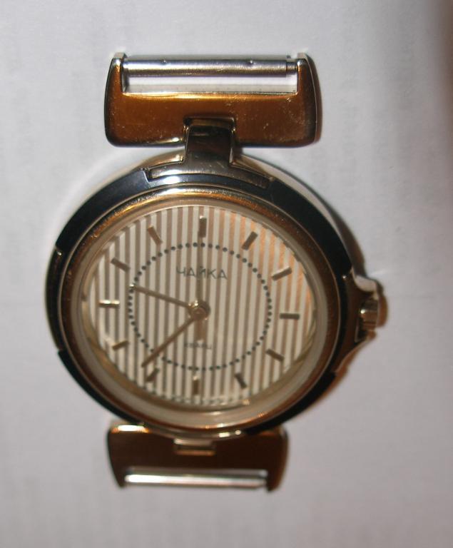 Женские кварцевые часы чайка водонепронецаемые.
