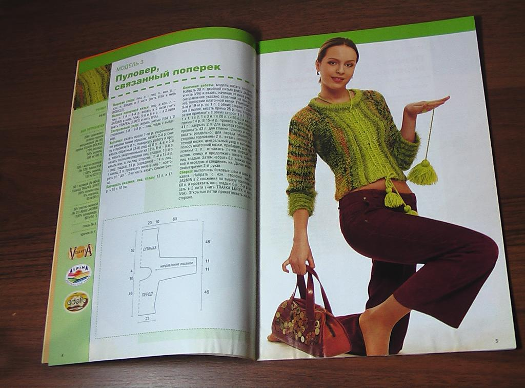 Старые журналы вязание диана 77