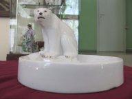 Медведь на льдине  ЛФЗ  1930-е  годы