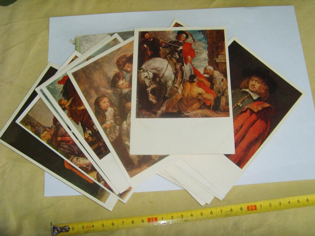 Набор открыток живопись 16