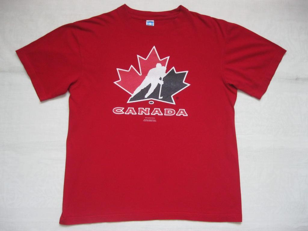 ФУТБОЛКА сборная КАНАДЫ по хоккею (Привозная)