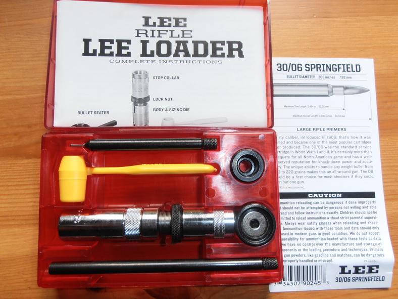 Молотковый набор Lee для сборки патрона 30-06
