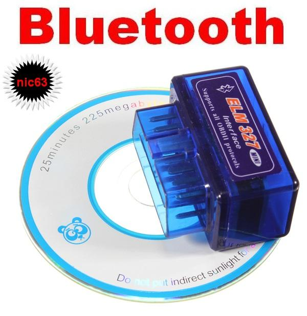 Bluetooth ELM327 OBD2 АДАПТЕР СКАНЕР ДИАГНОС