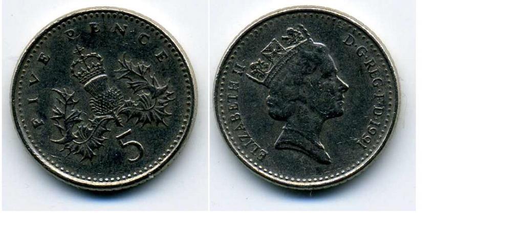 Монеты, великобритания 5 пенсов 1971 s_02, купить, фото, описание, стоимость, цена