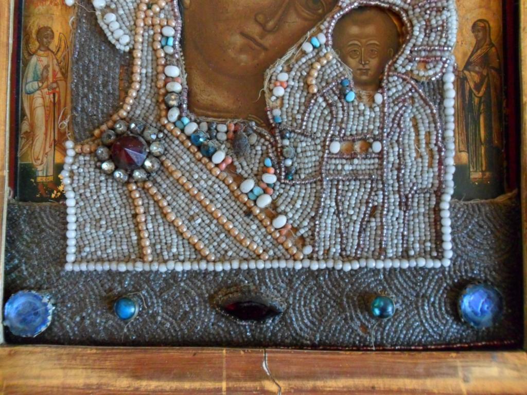 Оклады для икон своими руками бисер жемчуг