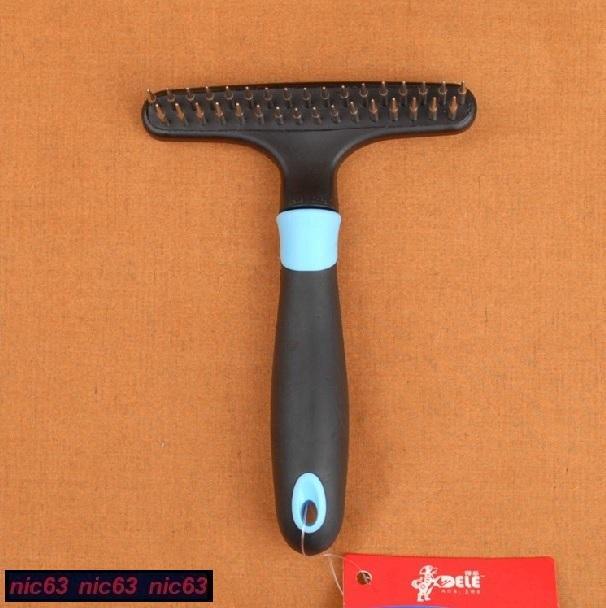 РАСЧЕСКА для СОБАК 2 ряда зубчиков хром стальных