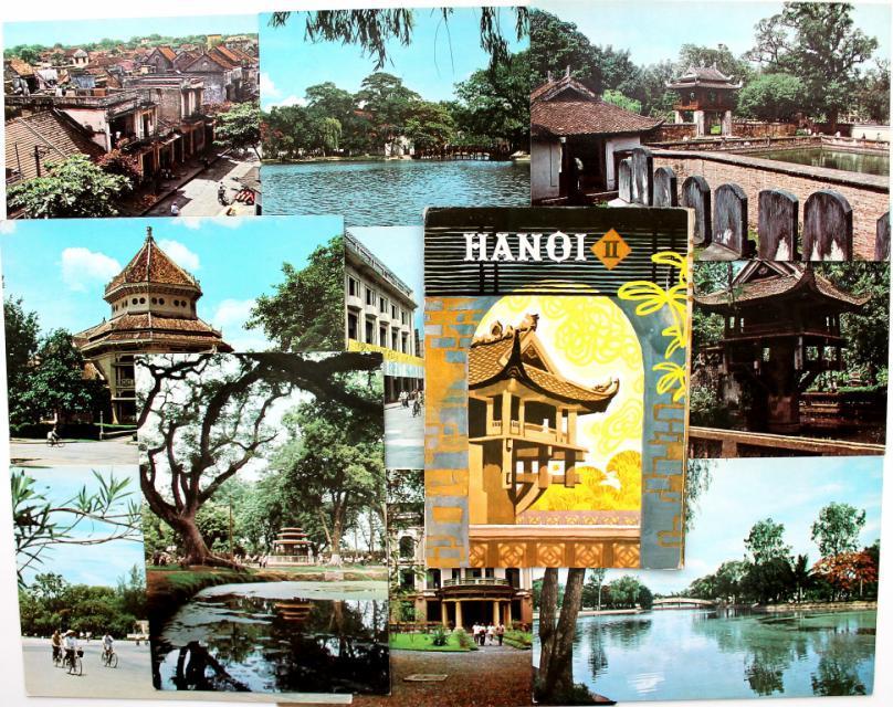 Субботой, открытка с вьетнама
