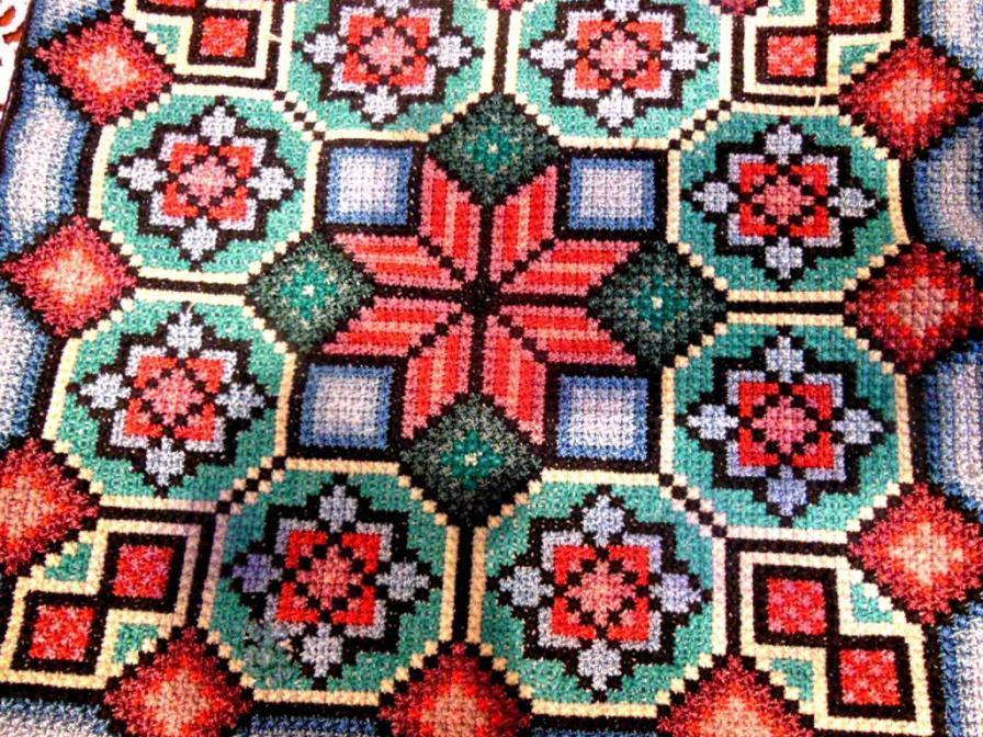 Болгарский крест вышивка картинки