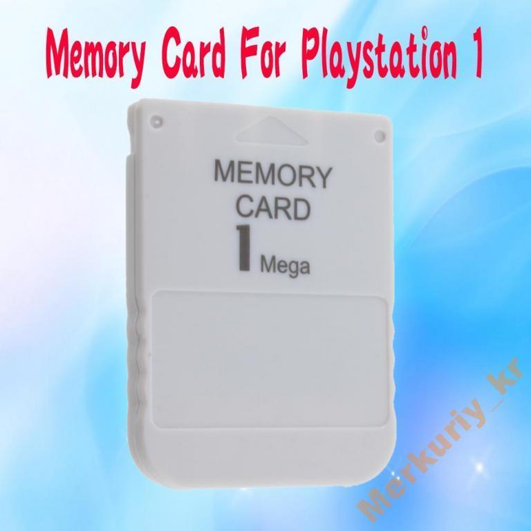 Карта Памяти для Sony Playstation 1 PS1/PSX.