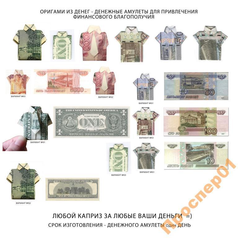 Как сделать талисман денег