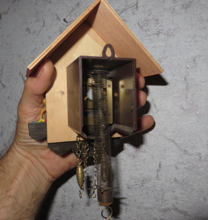 Механизм для часов с кукушкой своими руками 64