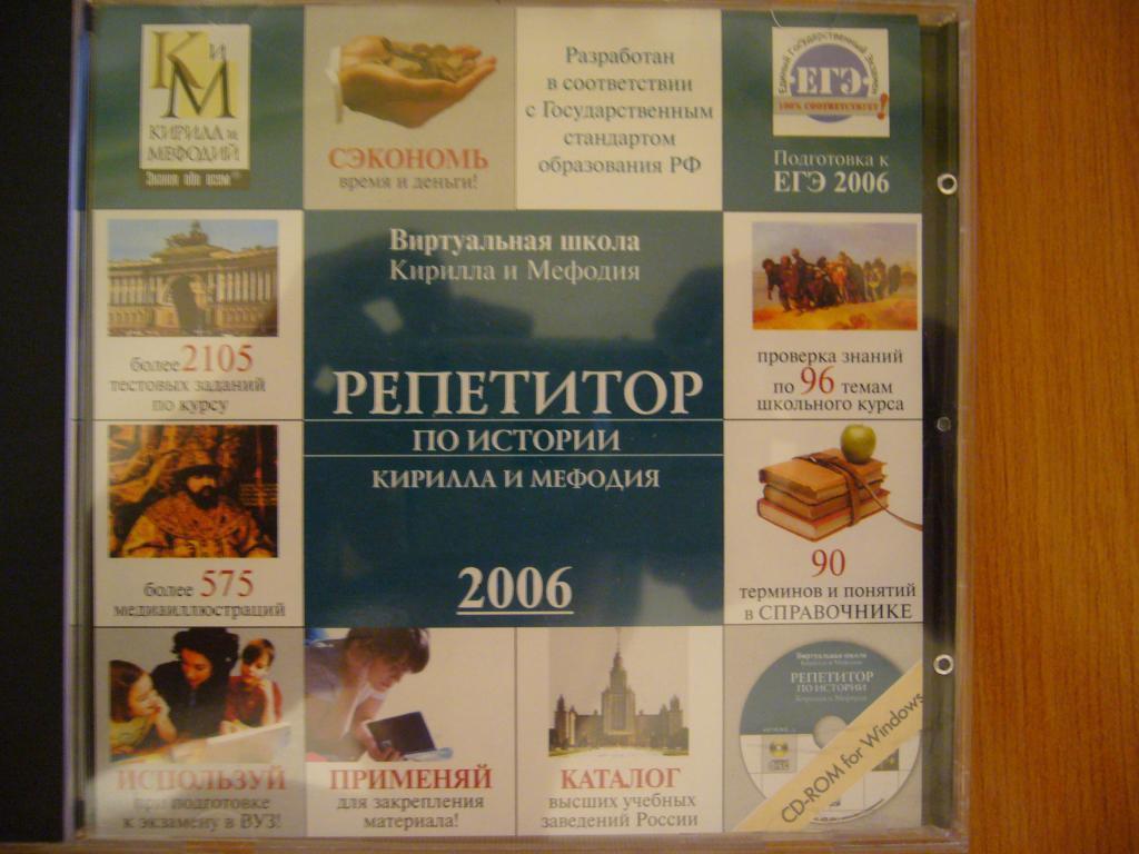 Репетитор по истории Кирилла и Мефодия