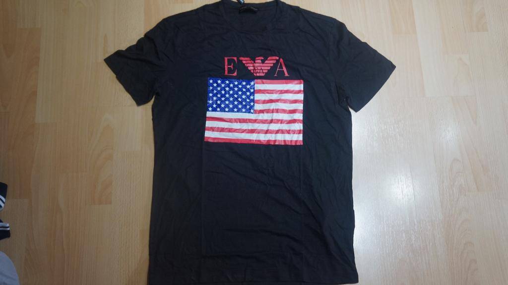 мужская футболка EMPORIO ARMANI размеры  M L