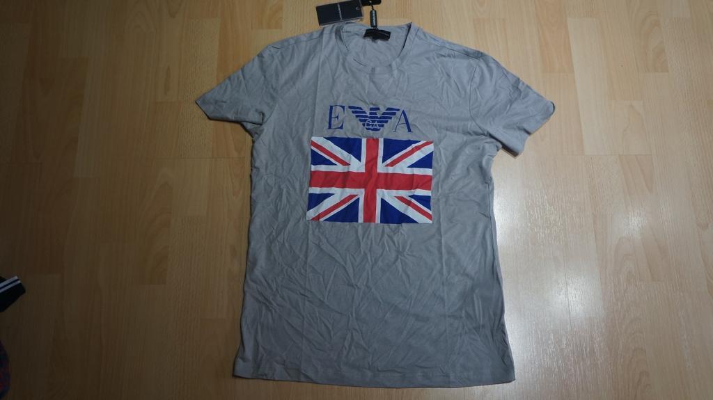 мужская футболка EMPORIO ARMANI размеры S M