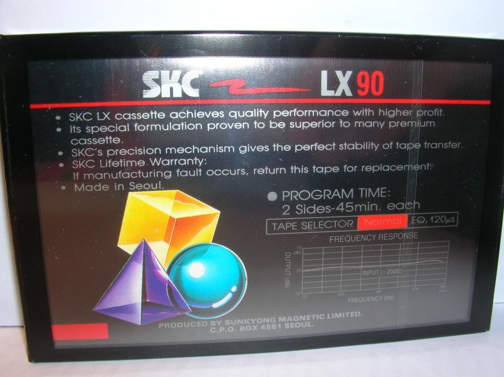 SKC LX 90 (1989 u0433) u0417u0430u043fu0435u0447u0430u0442u0430u043du043du0430u044f u0438u0437 u0431u043bu043eu043au0430 ( u043bu043eu0442 2.