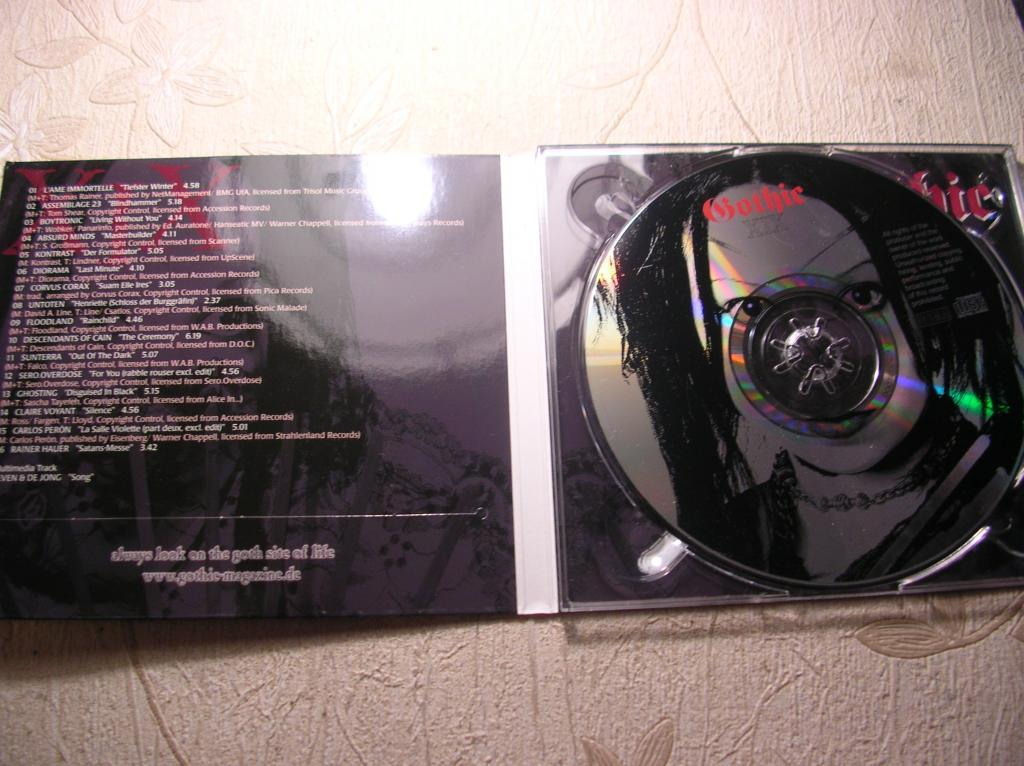 GOTHIC Compilation Part XIX 2002 made in Germany (Goth Rock, Industrial, Electro, EBM, Ambient)