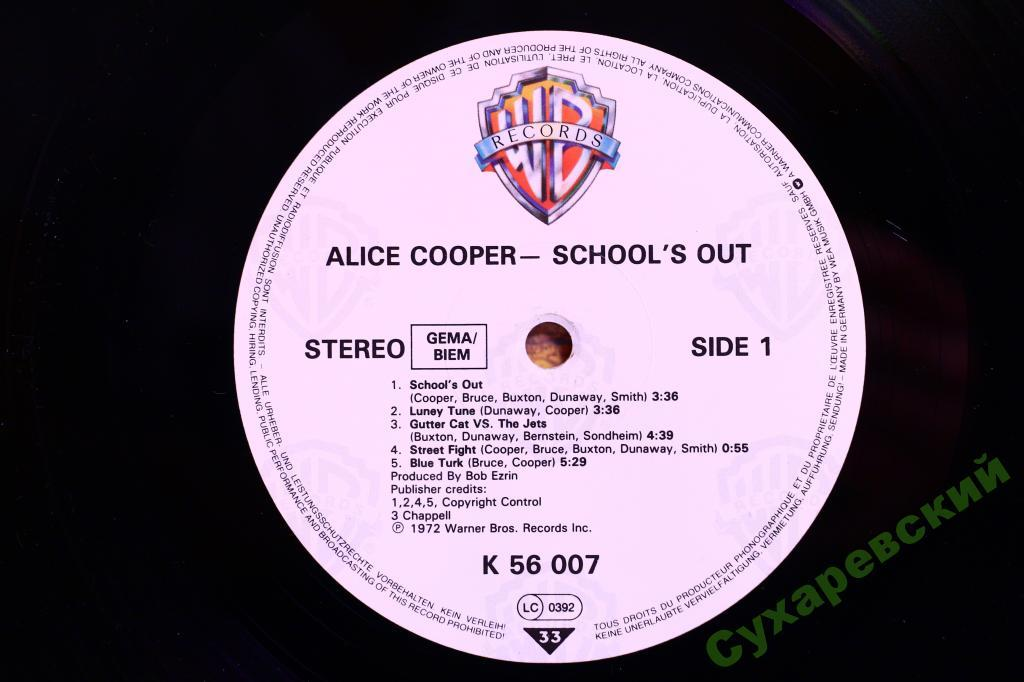 Alice cooper schools out logo