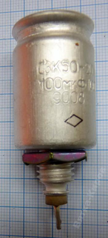 К50-20 100 В 100 МКФ