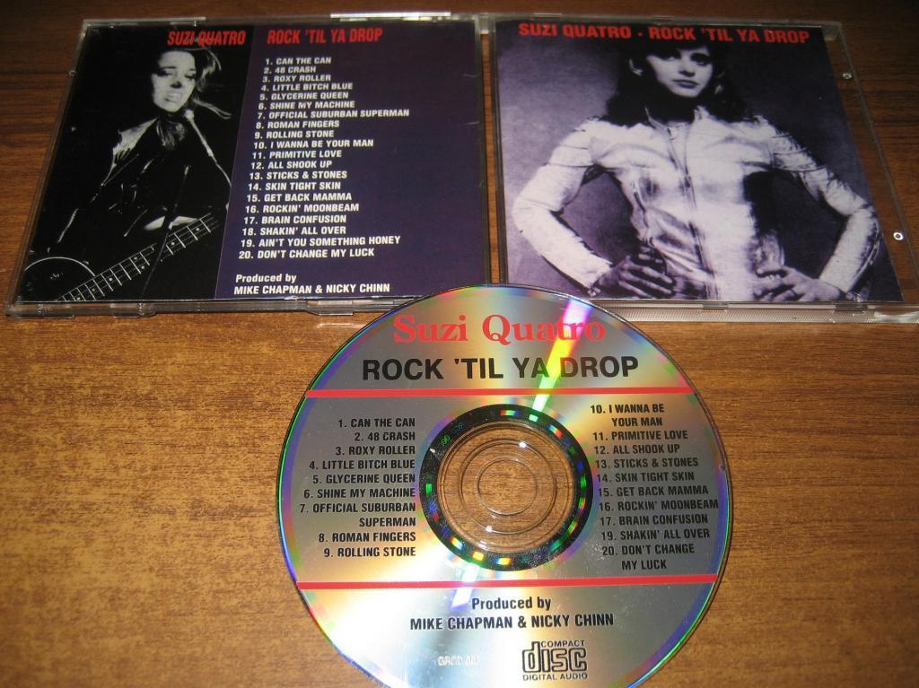 SUZI QUATRO - Rock 'Til Ya Drop