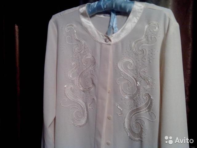 Вышивка Блузки Бисером