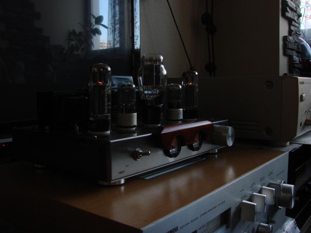 Ламповый усилитель на EL 34B