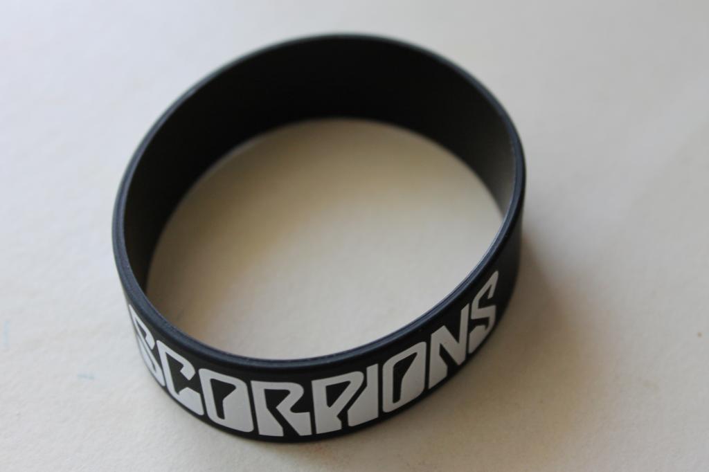 Scorpions браслет с концерта