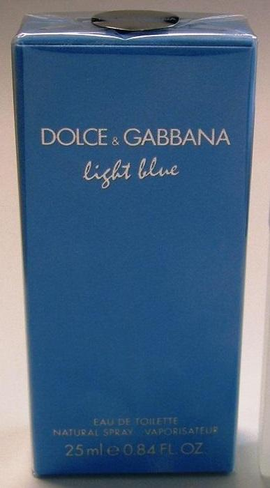 Dolce & Gabbana Light Blue 25ml туалетная вода женская edt ОРИГИН