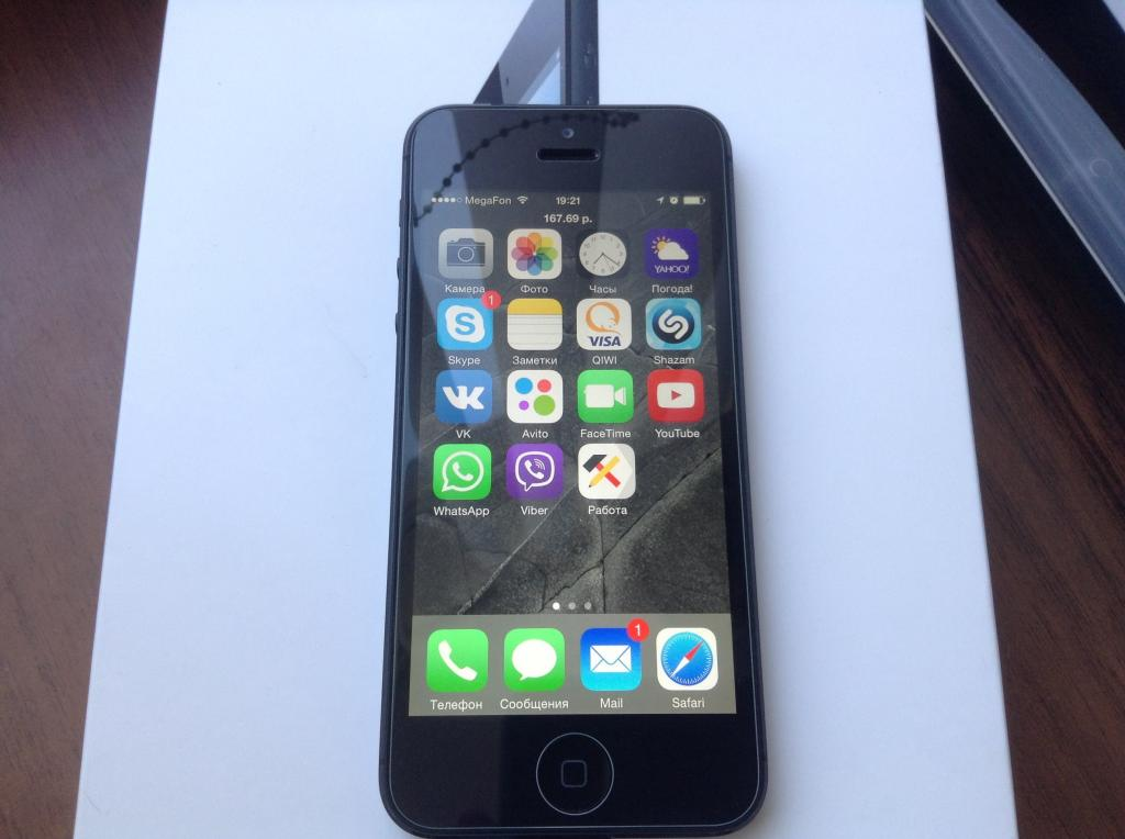 защитное стекло iphone 5 / 5s / SE