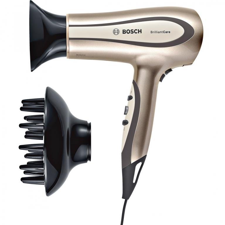 Фен 1800 Вт, ионизация BrilliantCare Hairtype (новый)