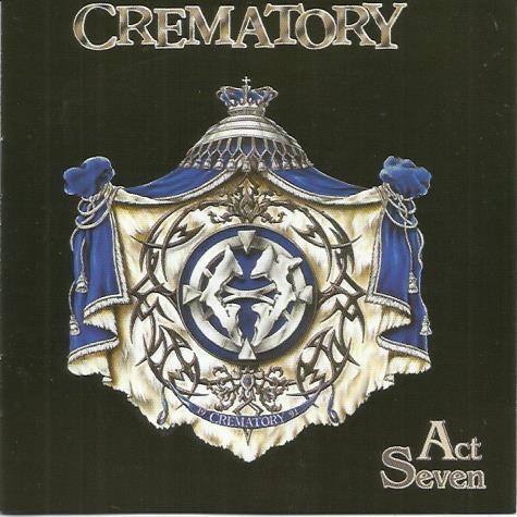 Crematory Act Seven лицензия буклет