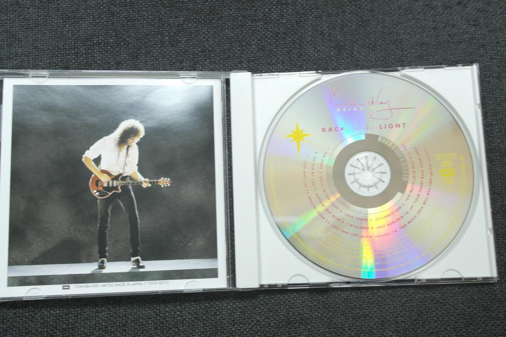 May Brian, Back To The Light, JAPAN CD