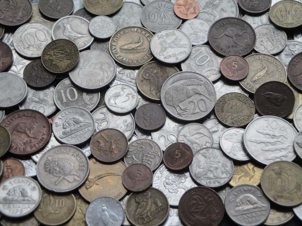Коллекция монет Флора и Фауна