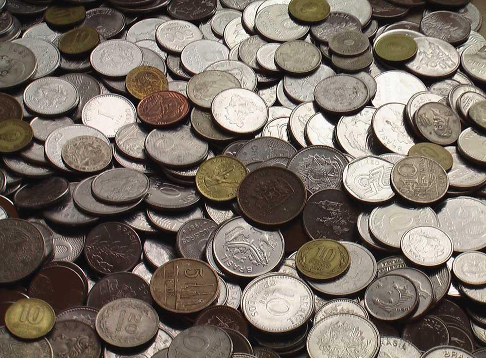 100 иностранных монет - Экзотика