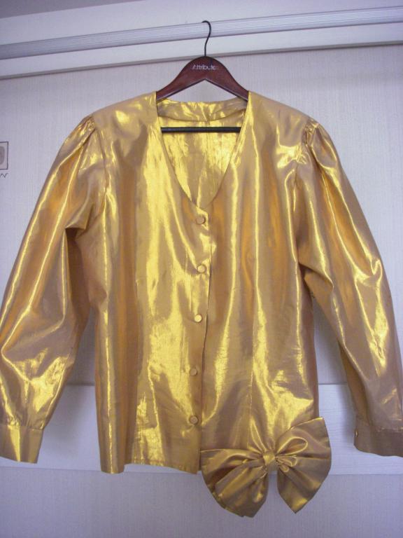 Блузка Золотая В Челябинске