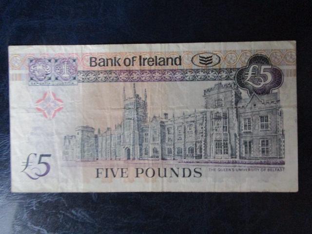 северная ирландия 5 фунтов 2003