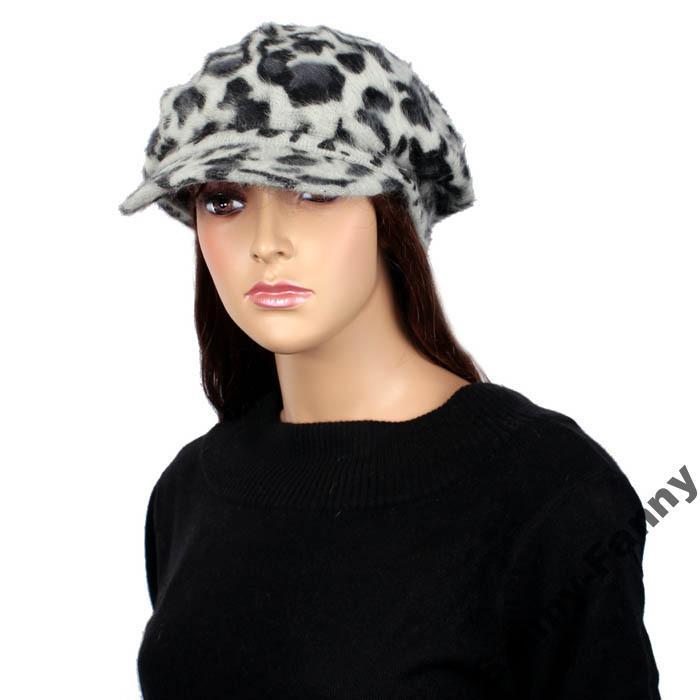 Шапка, кепка женская, шерсть, ангора