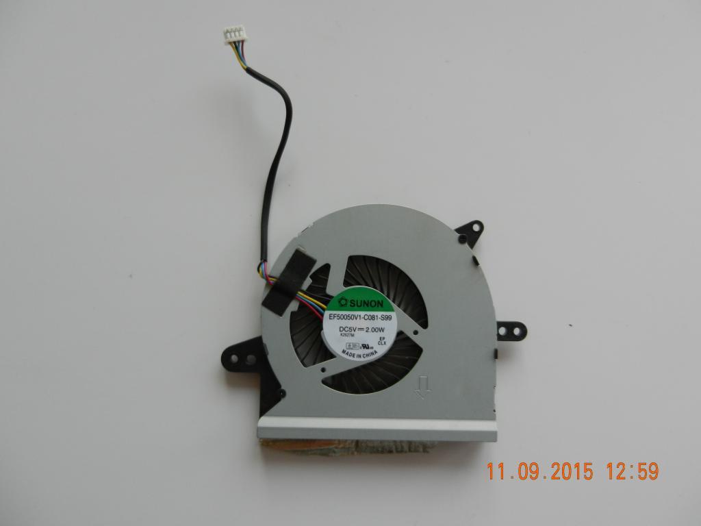Вентилятор ноутбука ASUS X501U