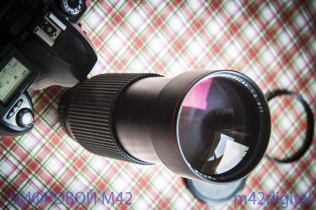 Л01 светосильный телеобъектив зум Tokina AT-X 100-300/4 №9001564 для Nikon F