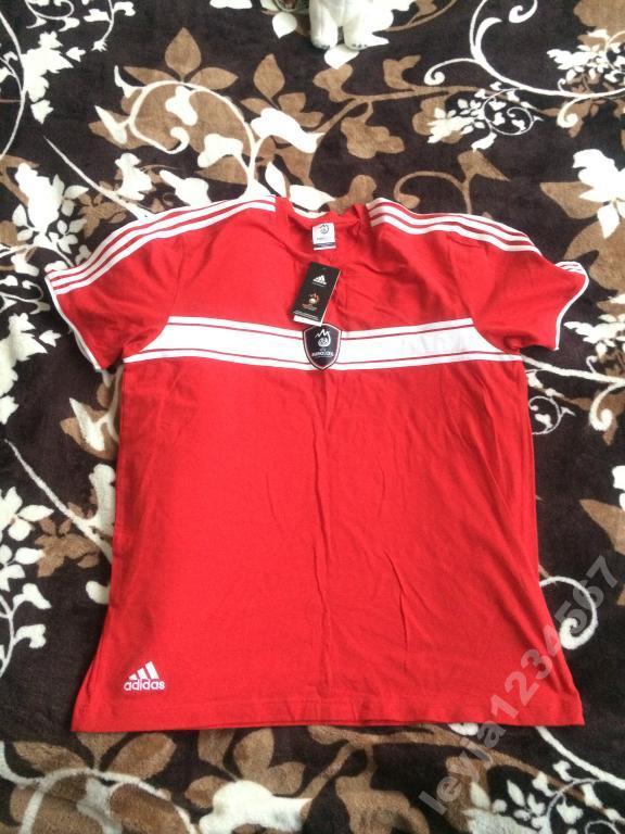 Футболка куплена на EURO 2008 adidas,р.XL