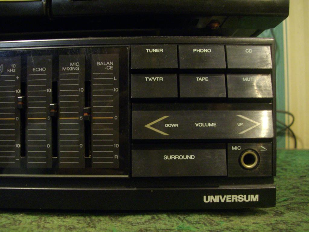 Усилитель со встроенным эквалайзером.  UNIVERSUM - V 4682 B